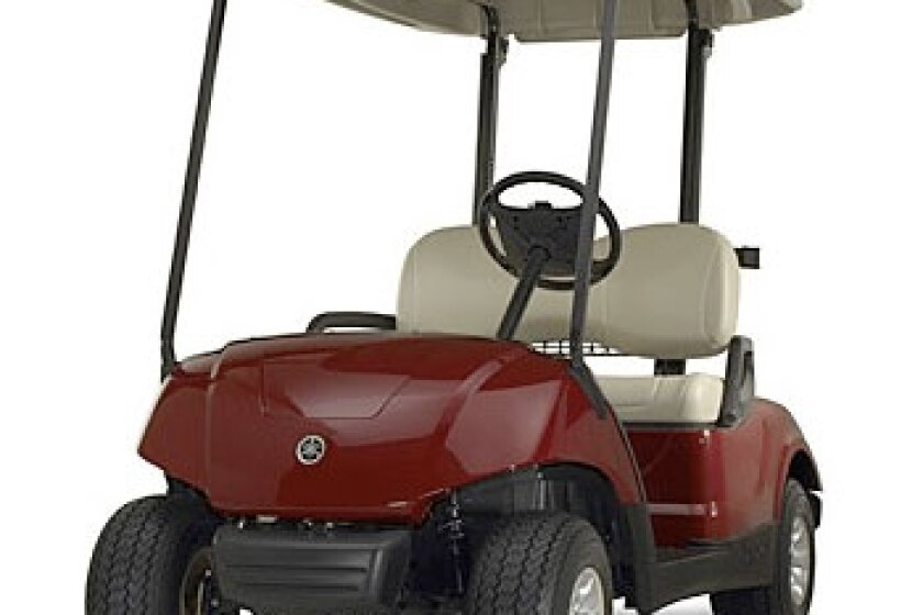 Yamaha Drive PTV Golf Cart