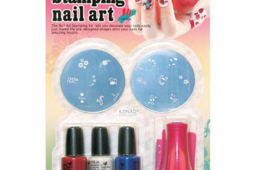 Konad Stamping Nail Art Set C