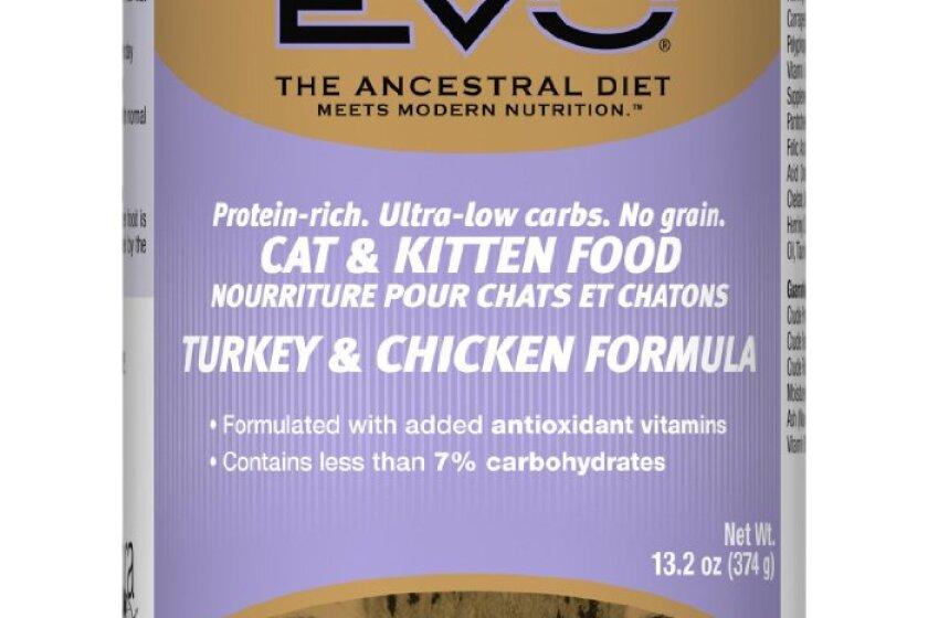 EVO Turkey & Chicken Formula Canned Cat & Kitten Food