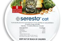 Bayer Seresto Flea and Tick Treatment Collar for Cats