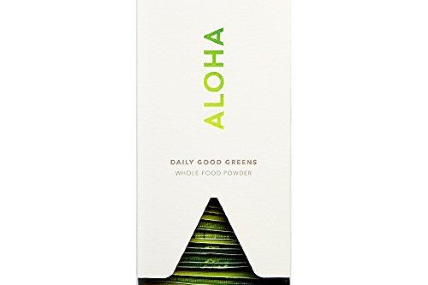 ALOHA Daily Good Greens Whole Food Powder (Chocolate Blend)