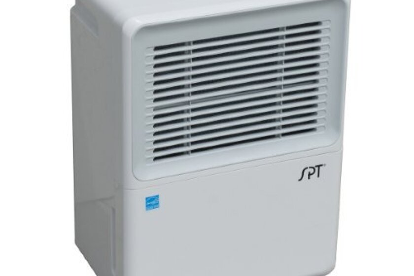 SPT SD-72PE Energy-Star Dehumidifier with Built-In Pump