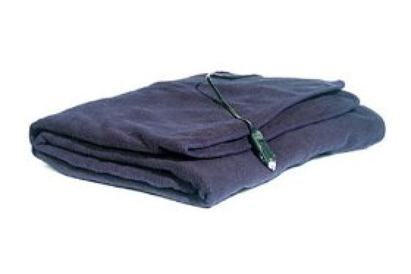 MAXSA Innovations Comfy Cruise 12V Heated Travel Blanket