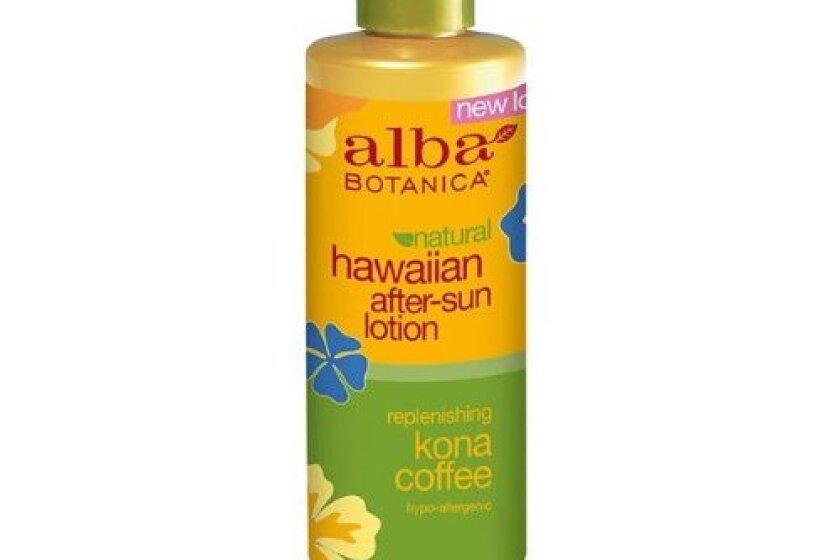 Alba Botanica Replenishing Kona Coffee Hawaiian After-Sun Lotion