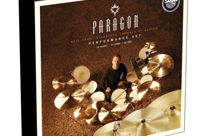 Sabian Neil Peart Signature Paragon Performance Cymbal Set - NP5005N