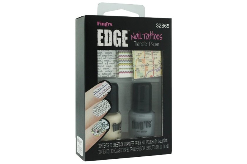 best Fing'rs Edge Nail Tattoos 32865