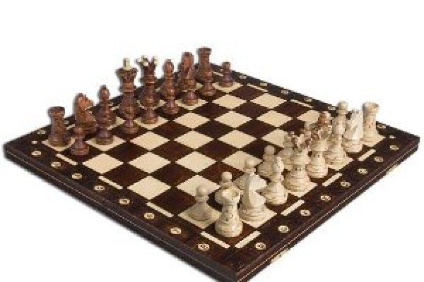 Wegiel Ambassador Chess Set and Board