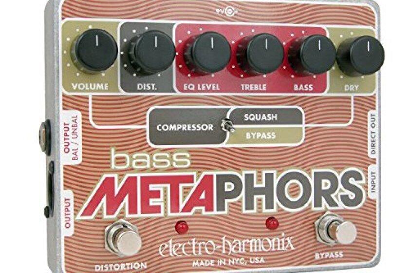 Electro-Harmonix Bass Metaphors Compression/Distortion Pedal