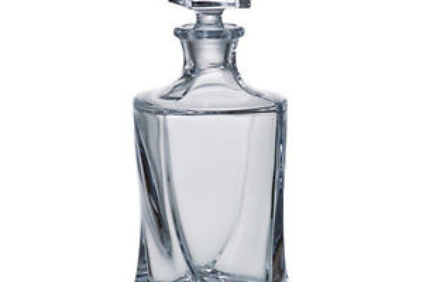 Bohemia Quadro Whiskey Decanter