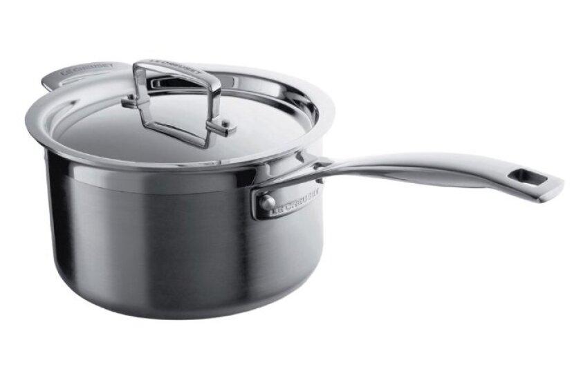 Le Creuset 4 Quart Covered Saucepan