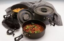 Texsport Black Ice The Scouter Hard Anodized Cook Set