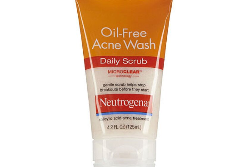 Neurtogena Oil-Free Acne Wash Daily Scrub