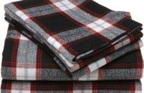 Pinzon 160-Gram Yarn-Dye Flannel Sheet Set