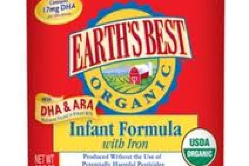 Earth's Best Organic Infant Formula