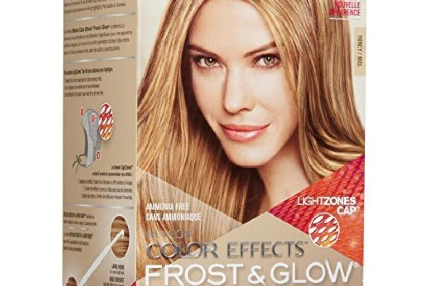 露华浓色彩效果霜和辉光发色