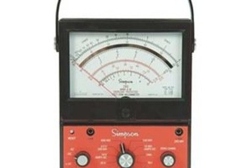 Simpson 260-9SP Analog Multimeter