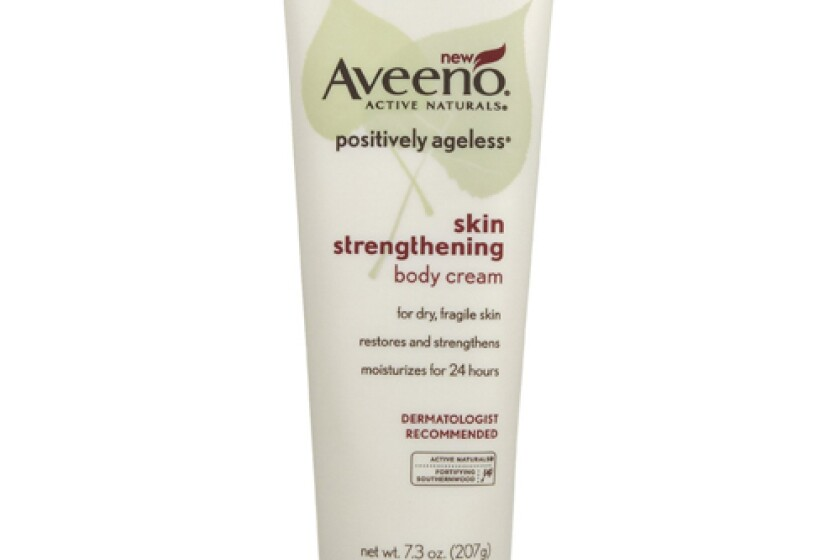 Aveeno Positively Ageless Skin Strengthening Body Cream