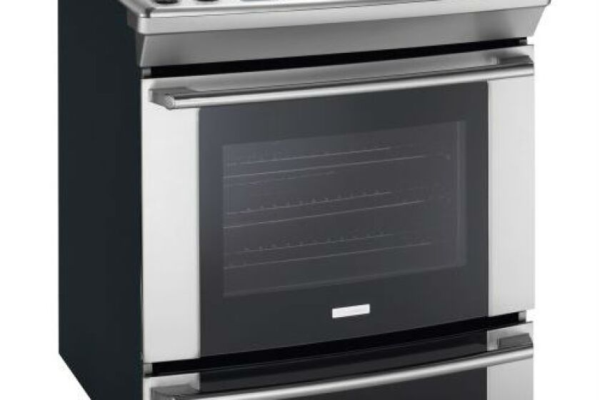 Electrolux 4.2 Cu. Ft. Stainless Steel Slide-In Gas Range - EW30GS65GS