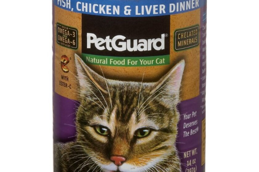 Pet Guard Organic Chicken and Vegetable Formula Canned Cat Food