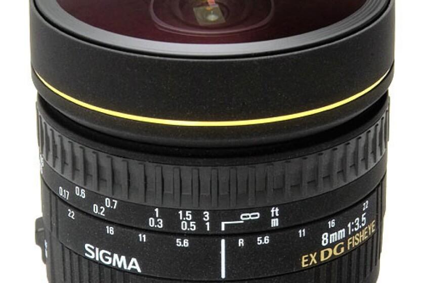 Sigma 8mm f/3.5 EX DG CIRC FISHEYE LNS f/CAN