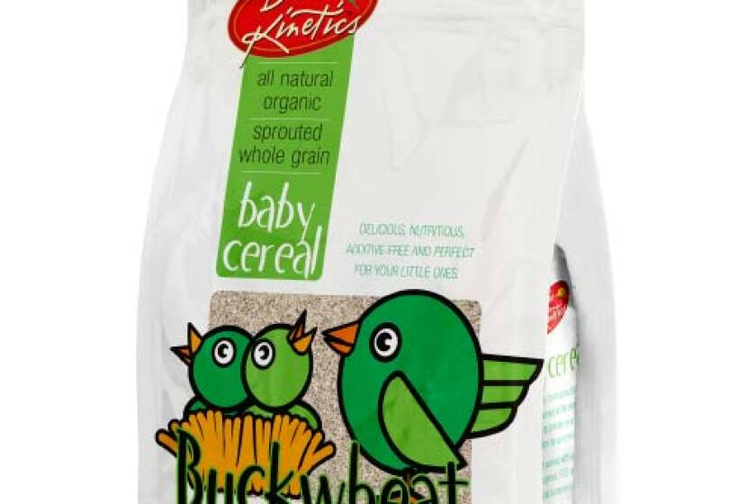 Bio Kinetics Buckwheat Baby Cereal