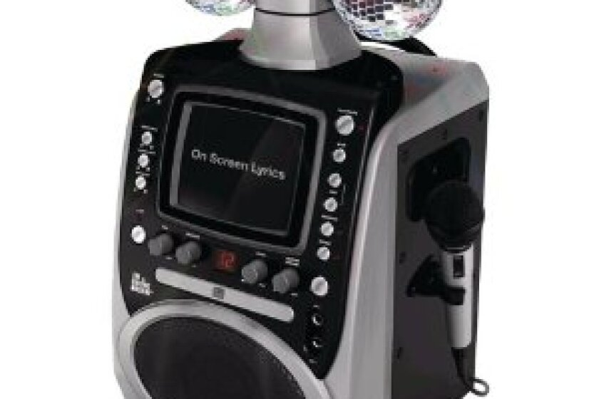 The Singing Machine SML-390 Disco Lights CDG Karaoke System