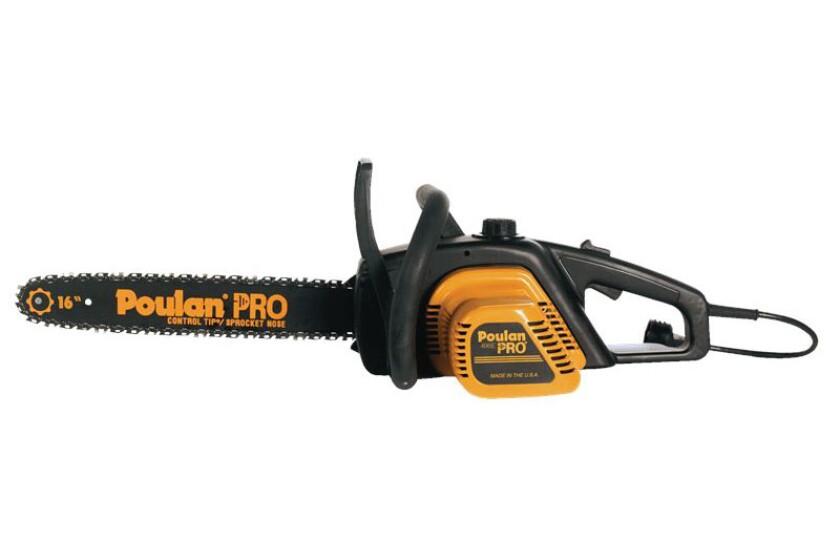 Best Poulan Electric Chain Saw