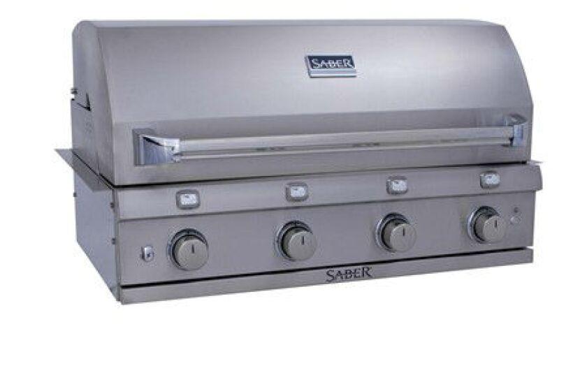Saber 4 Burner Built-In Grill