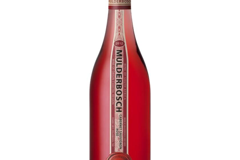Mulder Bosch Cabernet Sauvignon Rose '12