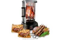 best NutriChef Kitchen Vertical Countertop Rotisserie