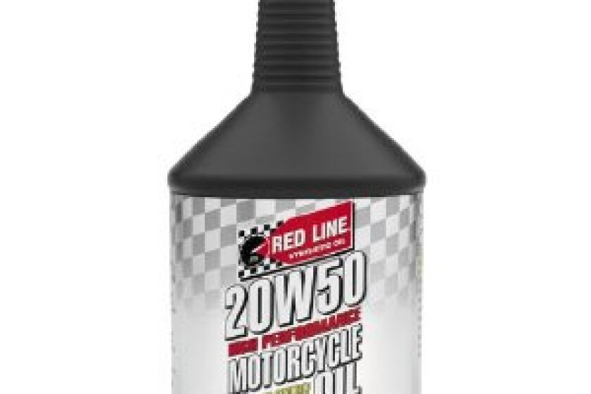 Red Line 20W/50 Motorcycle Oil