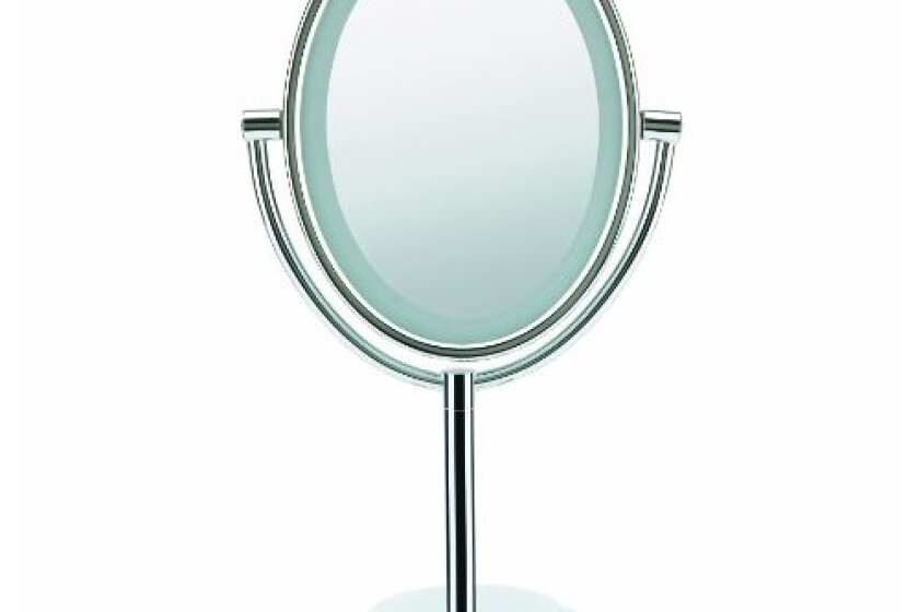Conair BE47X Double-Sided Illuminated Oval Mirror