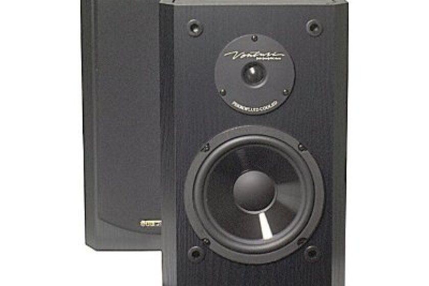 BIC America DV62si Bookshelf Speakers
