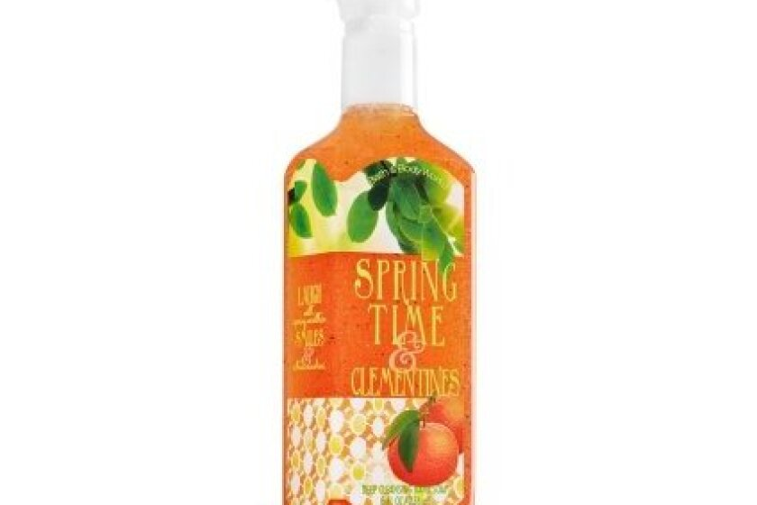 Bath & Body Works Deep Cleansing Hand Soap, Springtime and Clementines
