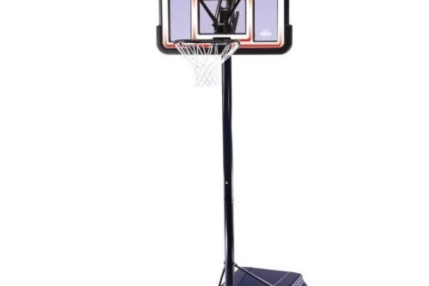 Lifetime 1269 Pro Court Portable Basketball System with Acrylic Fusion Backboard