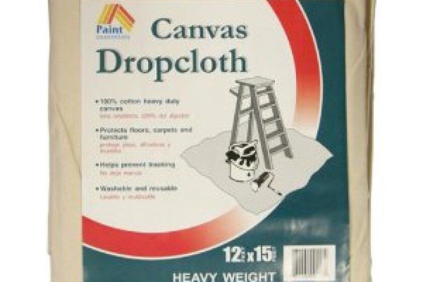 Galaxy Paint Essentials HW1215 12' x 15' Canvas Dropcloth