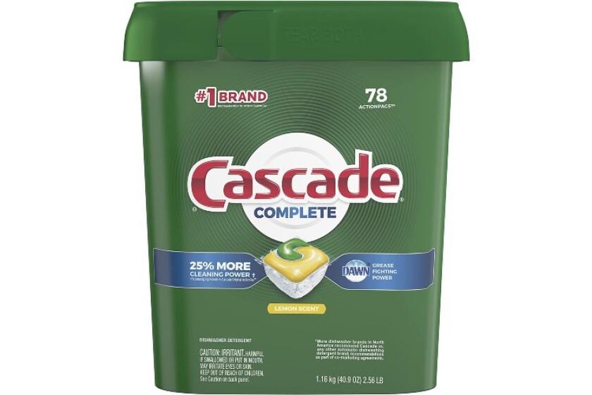 best Cascade Complete All-in-1 Dishwasher Detergent