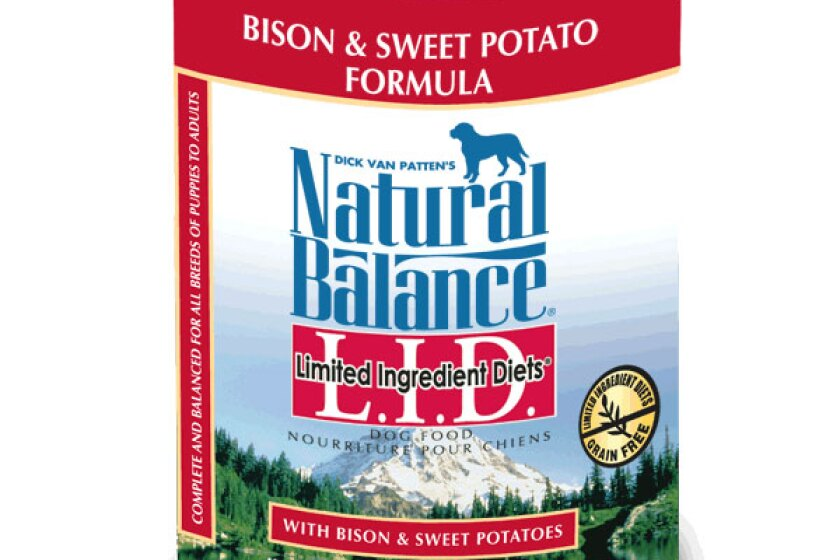 Natural Balance Limited Ingredient Diets Bison & Sweet Potato Canned Dog Formula