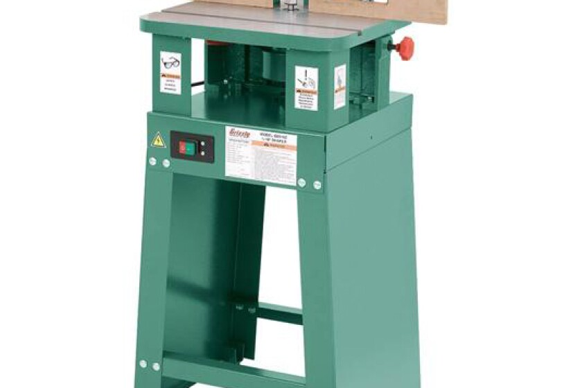 Grizzly G0510Z, 3/4 HP Shaper