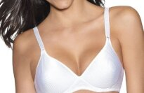 Hanes Lightly Lined Full Padded Soft Cup Bra