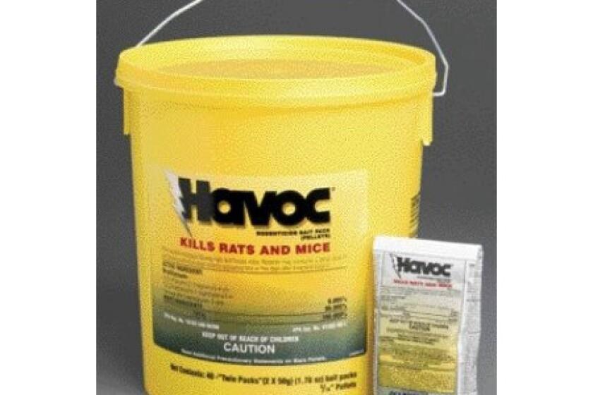 Neogen Rodenticide 40-Pack Havoc Mouse and Rat Killer