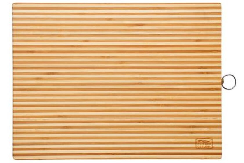 "Chicago Cutlery 16"" x 12"" Woodworks Bamboo Cutting Board"