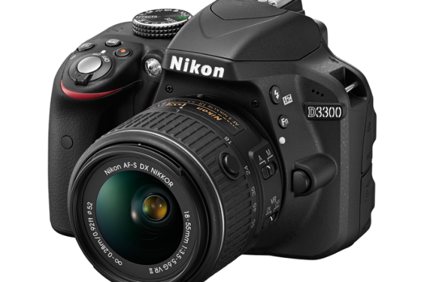 Nikon D3300 DSLR Camera Kit w/ 18-55mm Lens