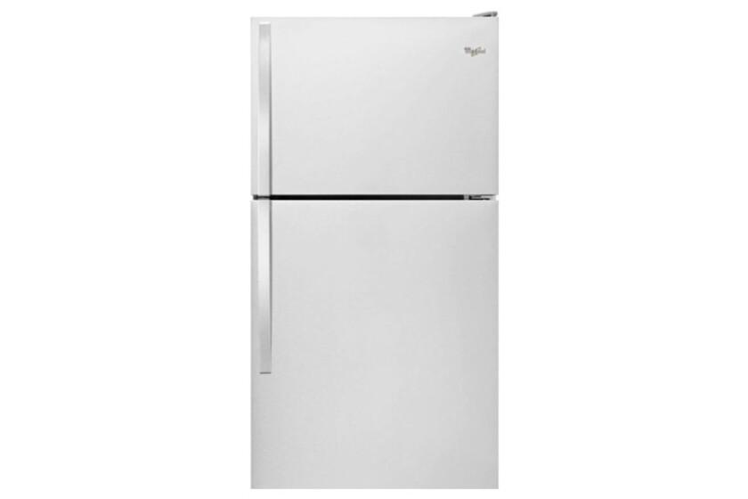 Whirlpool 18.2 Cu. Ft. Top Freezer Refrigerator - WRT138FZDW