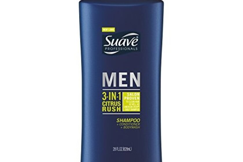 Suave Men 3-in-1 Hair & Body Citrus Rush
