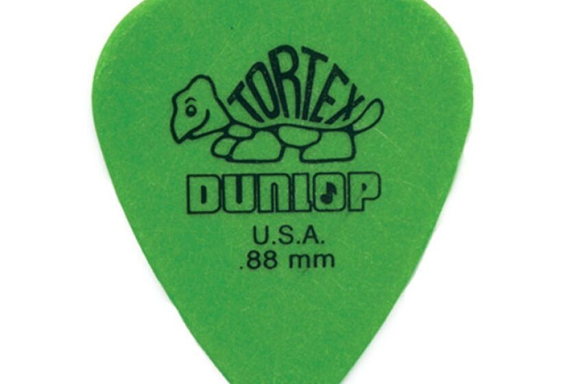 Dunlop Tortex Standard Picks - .88mm Green, Bag of 72