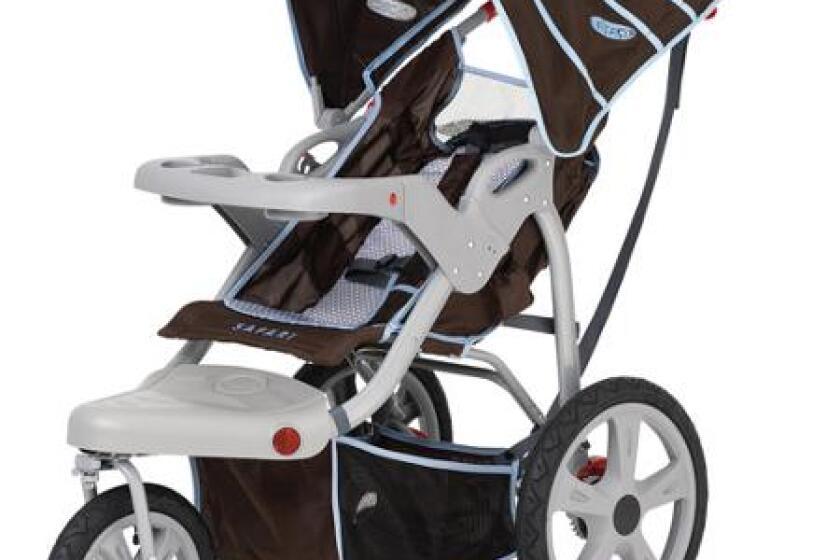 InStep Safari Swivel-Wheel Jogger