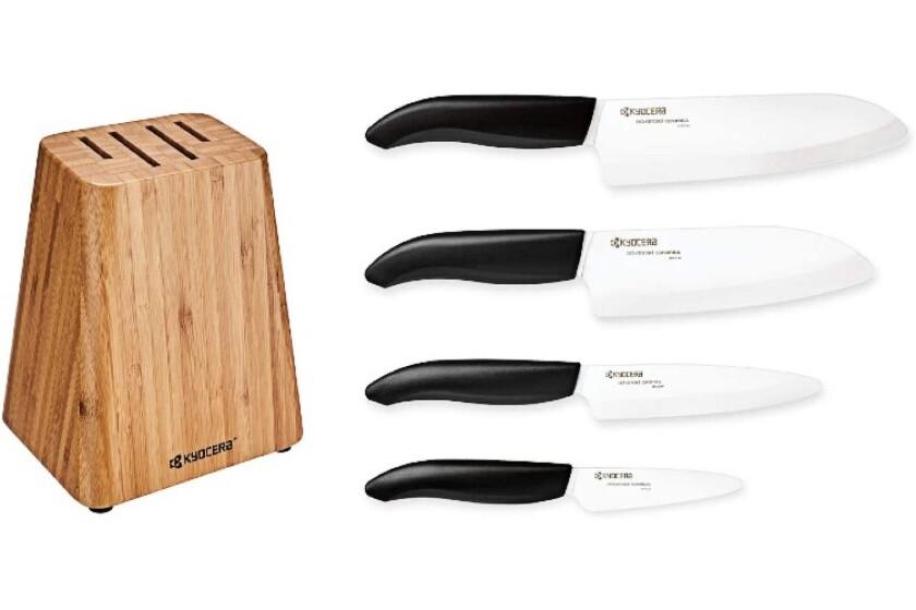 best Kyocera 5 Piece Block Knife Set