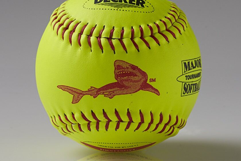 Decker Red Shark SuperGrip Softball