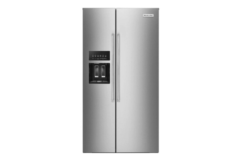 Kitchenaid 22.7 Cu. Ft. Counter-Depth Stainless Steel Side-by-Side Refrigerator - KRSC503ESS